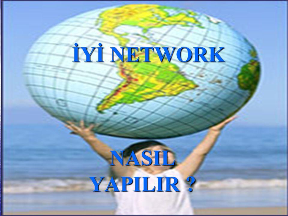 İYİ NETWORK NASIL YAPILIR ? İYİ NETWORK NASIL YAPILIR ?