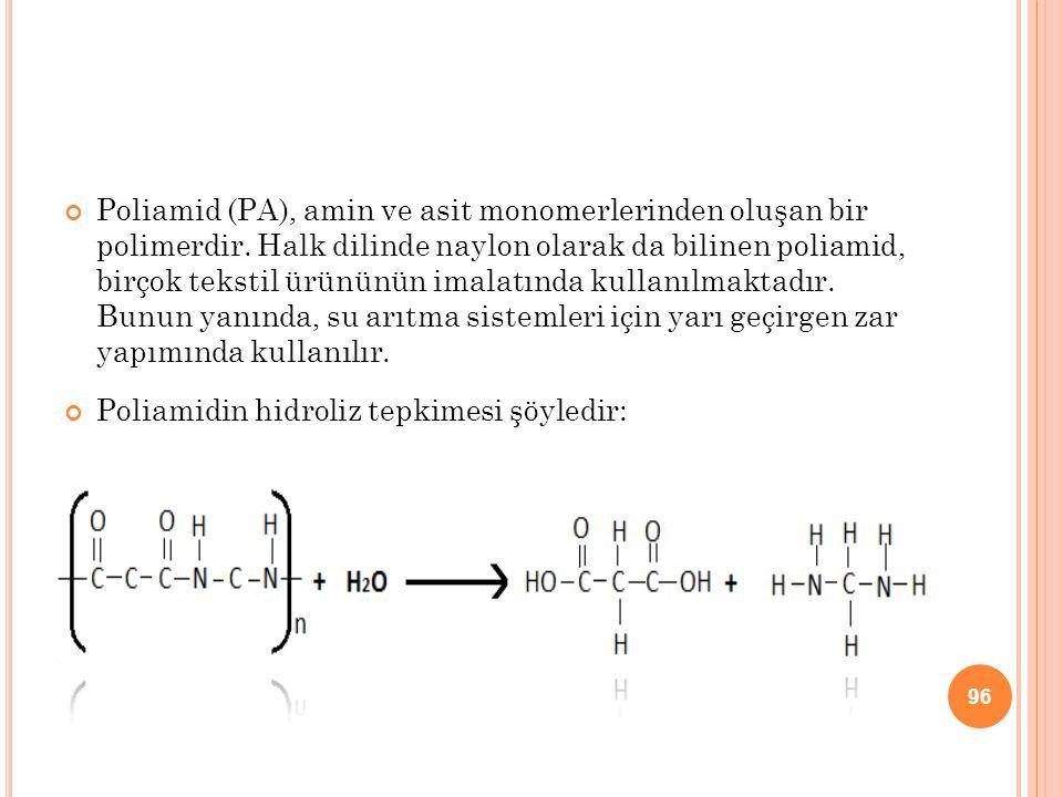 Poliamid (PA), amin ve asit monomerlerinden oluşan bir polimerdir. Halk dilinde naylon olarak da bilinen poliamid, birçok tekstil ürününün imalatında