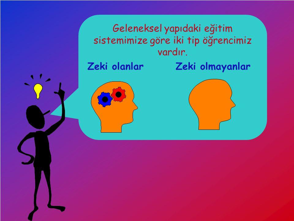 Dersimiz.Com Geleneksel yapıdaki eğitim sistemimize göre iki tip öğrencimiz vardır.
