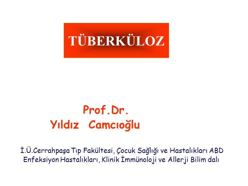 TÜBERKÜLOZ Prof.Dr.