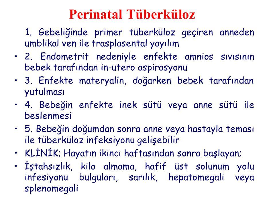Perinatal Tüberküloz 1.