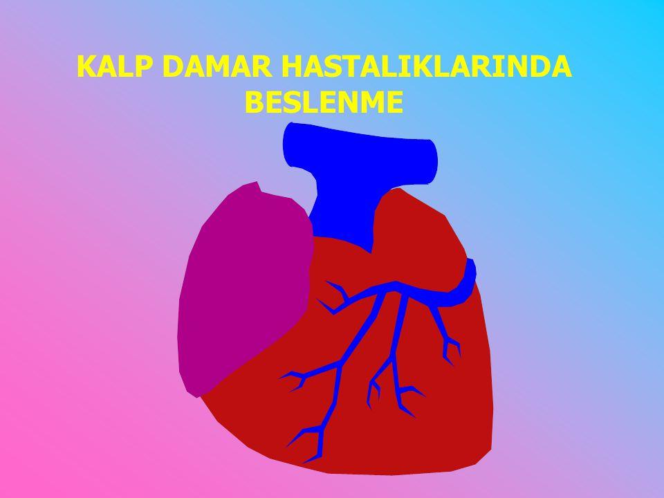 Gelişmiş ülkelerde ölüm nedenleri arasında birinci sırada kalp-damar hastalıkları yer almaktadır.