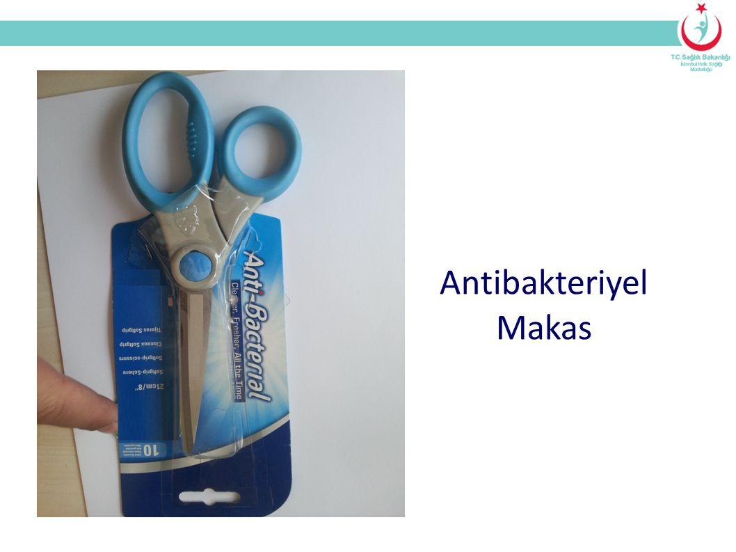 Antibakteriyel Makas