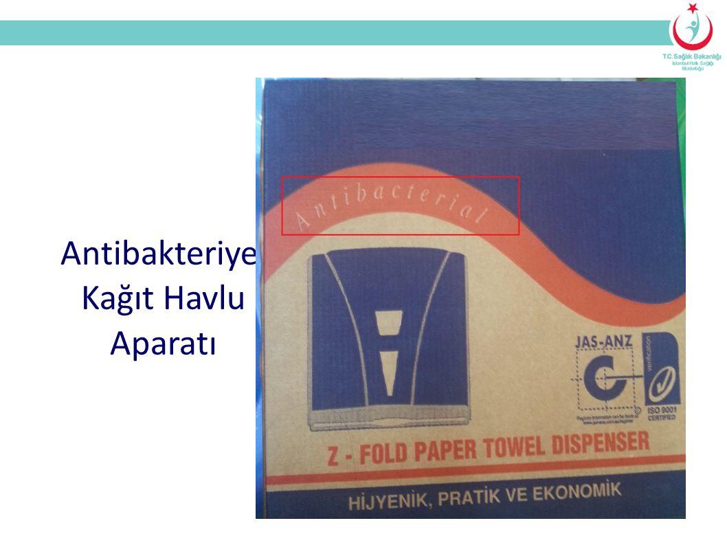 Antibakteriyel Kağıt Havlu Aparatı