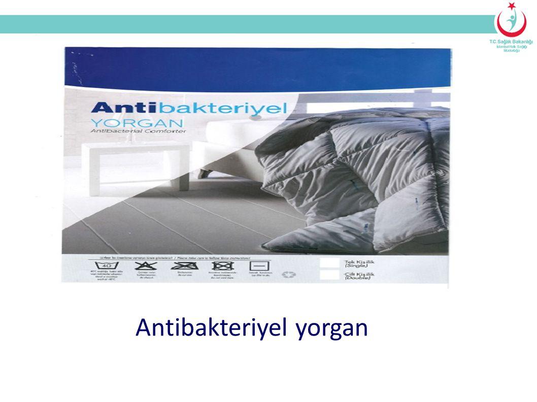 Antibakteriyel yorgan