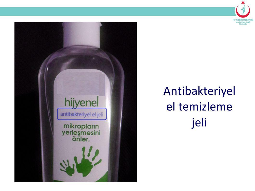 Antibakteriyel el temizleme jeli