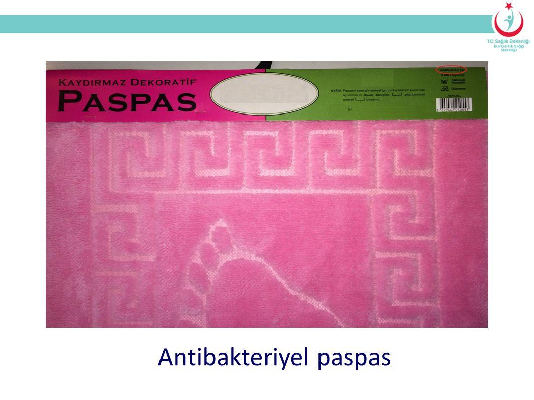 Antibakteriyel paspas