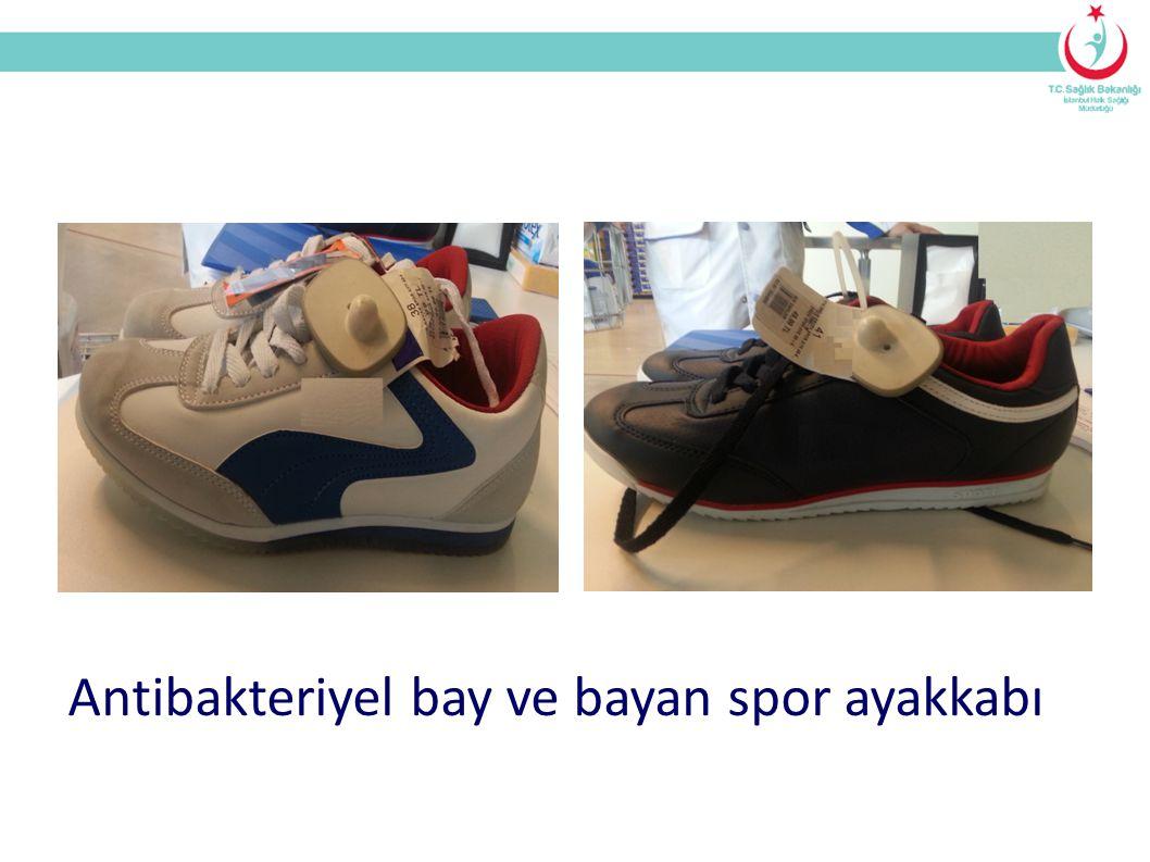 Antibakteriyel bay ve bayan spor ayakkabı