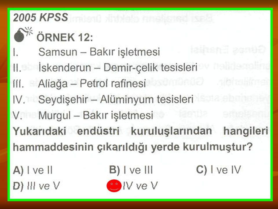 TÜRKİYE'DE TERMİK VE HİDROELEKTRİK SANTRALLER