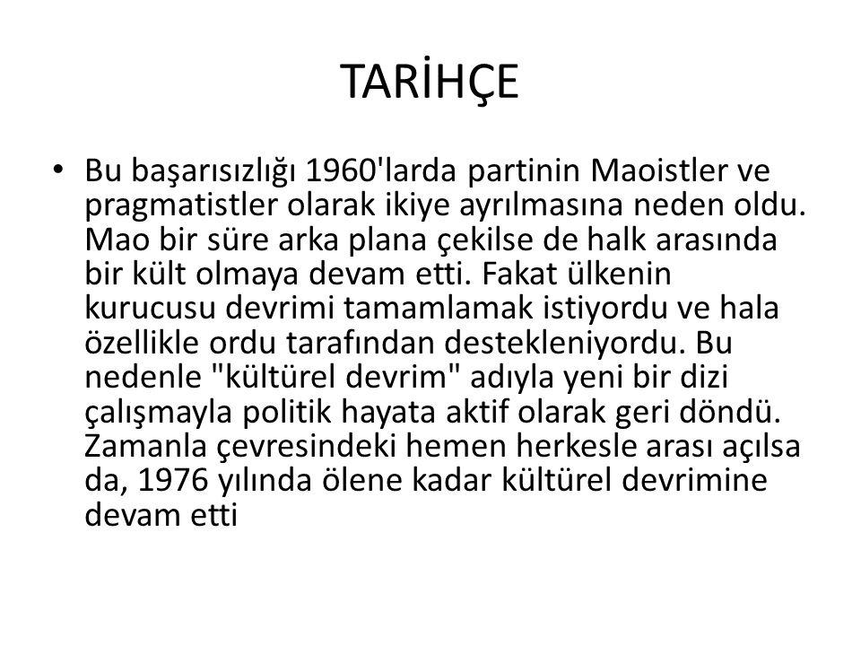 YÖNETİM 20 Eylül 1954 tarihli bir anayasa ile komünizm idaresi kurulmuştur.