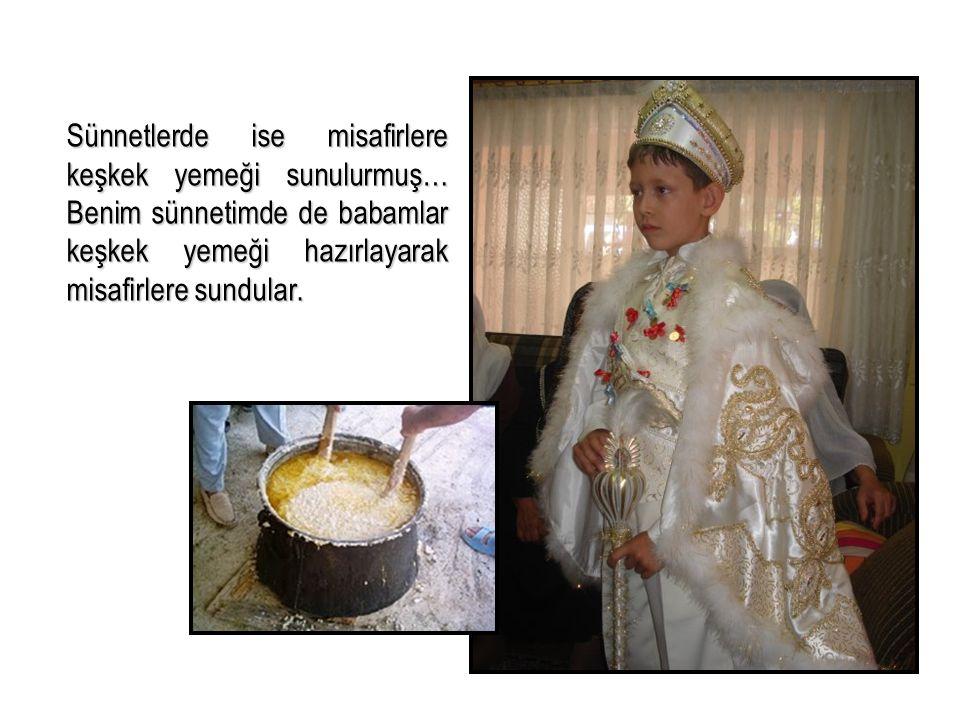 Çevremizde düğün, sünnet, kına, bayram gibi özel günlere has yemekler yada içecekler. Türkçe Dersi II.