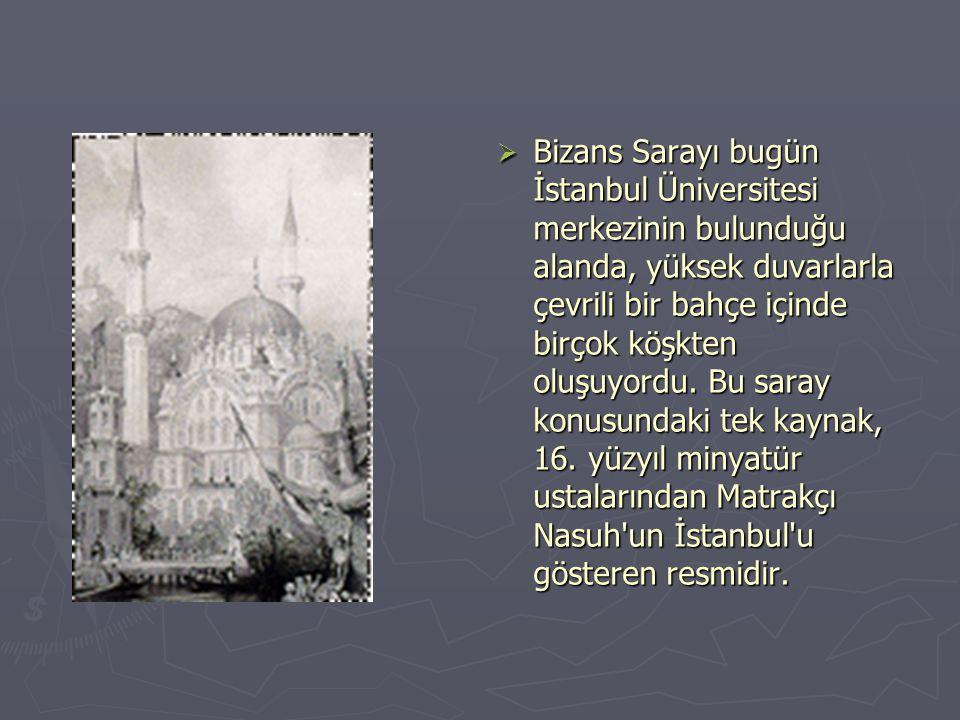  B Bab-ı Selam dan sonra gelen Bab-ı Saade ya da Akağalar Kapısı ise, sarayın Birun denen dış kısmı ile Enderun denen iç kısmını birbirinden ayırır.