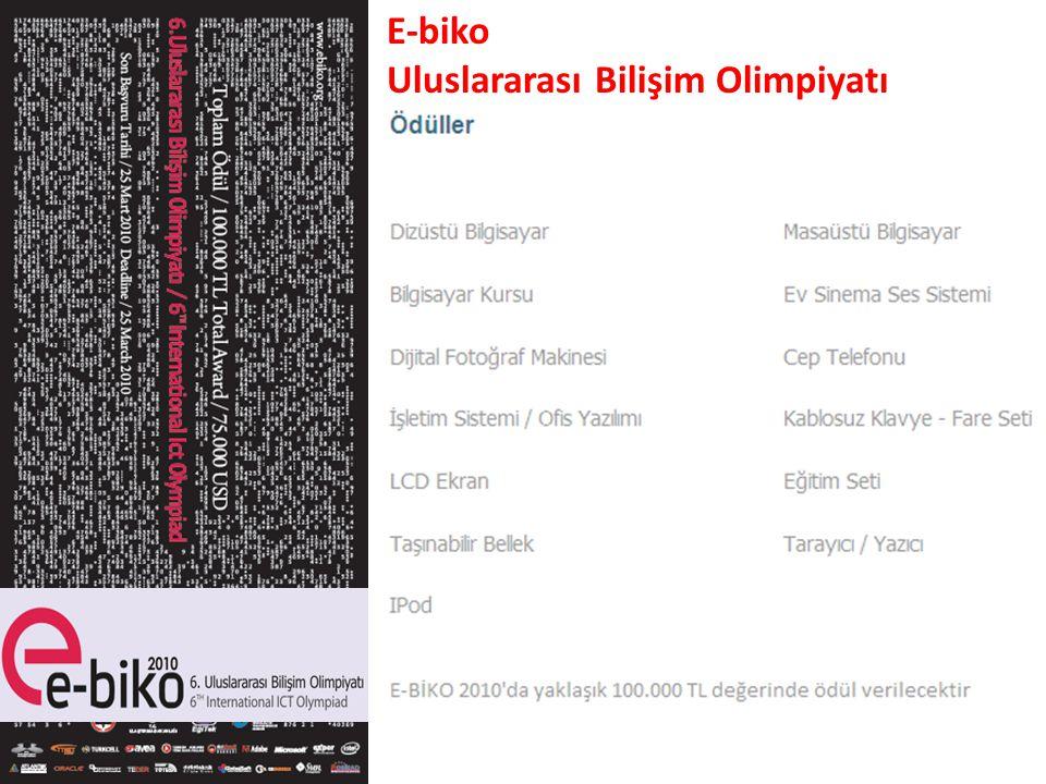 E-biko Uluslararası Bilişim Olimpiyatı