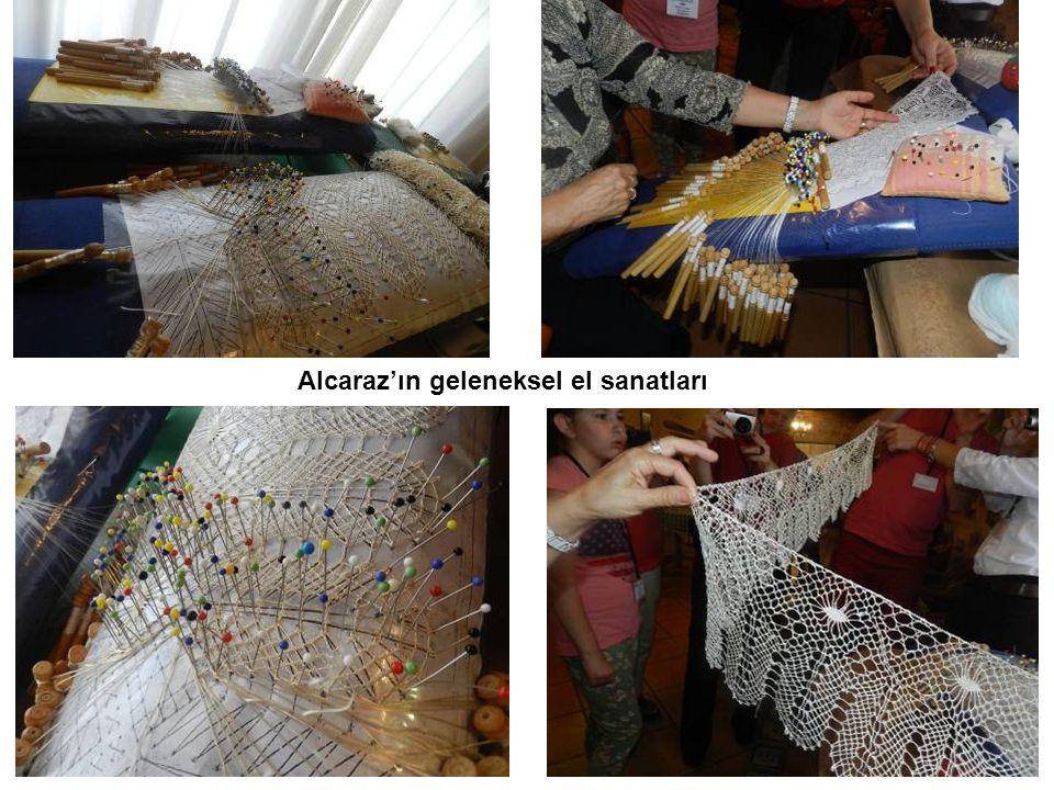 Alcaraz'ın geleneksel el sanatları