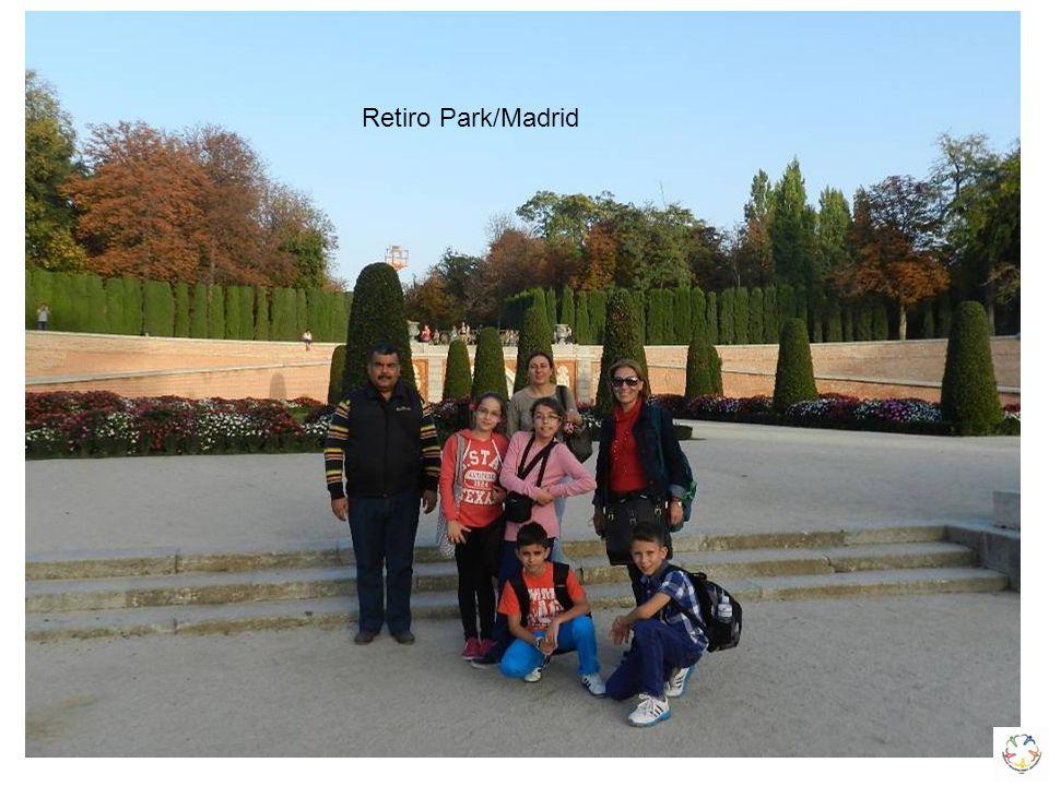Fontana di Trevi (Aşk Çeşmesi) Retiro Park/Madrid