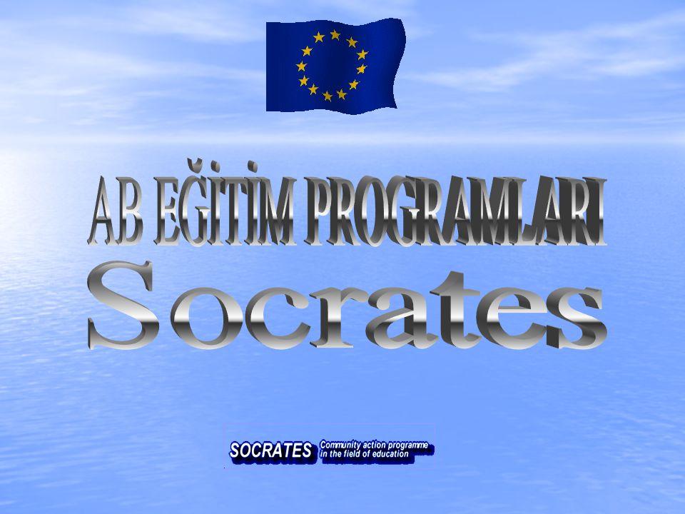Avrupa Birliği, bu önemli ve öncelikli gündem konusunu hayata geçirmek için SOCRATES programını başlatmıştır.