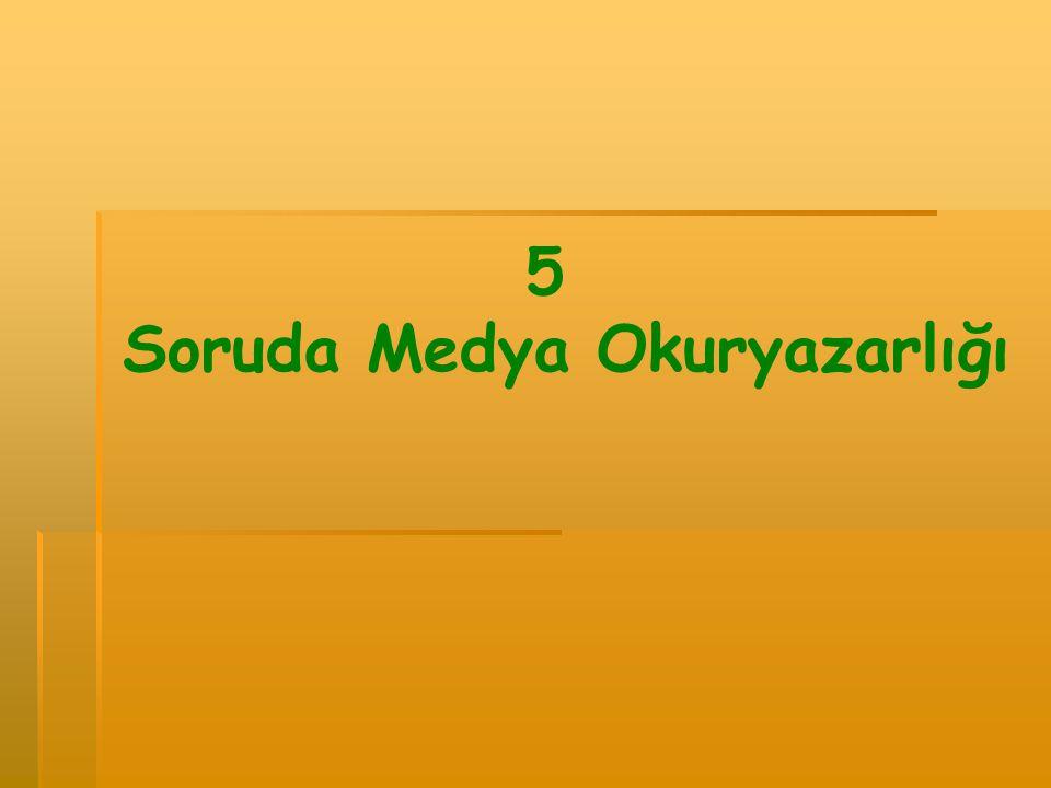 5 Soruda Medya Okuryazarlığı