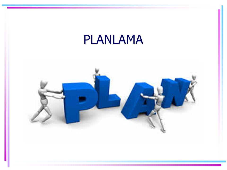 Planlama, Yapılacak bir etkinliğin önceden sistematik olarak (düşünülmesi ve yazılması) tasarlanmasıdır.