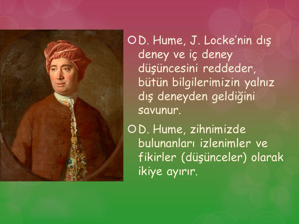  D.Hume, J.