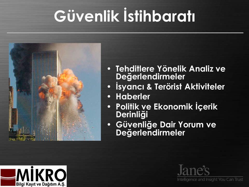 Güvenlik İstihbaratı Tehditlere Yönelik Analiz ve Değerlendirmeler İsyancı & Terörist Aktiviteler Haberler Politik ve Ekonomik İçerik Derinliği Güvenliğe Dair Yorum ve Değerlendirmeler