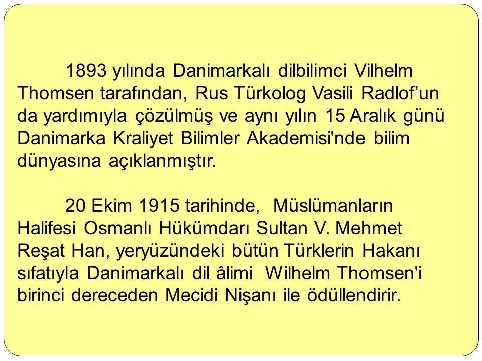 Orhun Yazıtları, Göktürk Yazıtları ya da Köktürk Yazıtları, Türklerin bilinen ilk alfabesi olan Orhun alfabesi ile Göktürkler tarafından yazılmış yapı