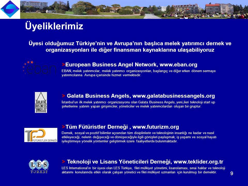 > European Business Angel Network, www.eban.org EBAN, melek yatırımcılar, melek yatırımcı organizasyonları, başlangıç ve diğer erken dönem sermaye yatırımcılarına Avrupa içerisinde hizmet vermektedir.