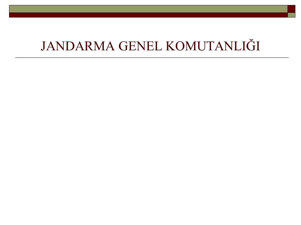 JANDARMA GENEL KOMUTANLIĞI