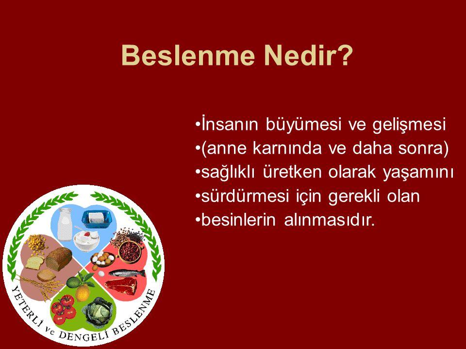 B vitaminleri B vitaminin bulunduğu besinlerden belirli miktarda yenmelidir.