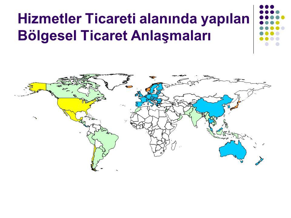 AB'nin dış ticaret ağları MERCOSUR ile ilişkiler Latin Amerika ve Karayipler ile ilişkiler EUROMED AB ve Körfez bölgesi: AB-Körfez İşbirliği Konseyi (EU-Gulf Cooperation Council) Orta Asya (2007'de kabul edilen AB Orta Asya Stratejisi) GSP ve EBA inisyatifleri
