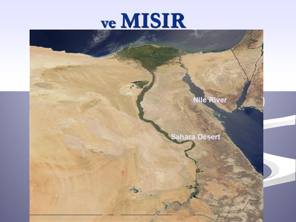 ve MISIR Nile River Sahara Desert