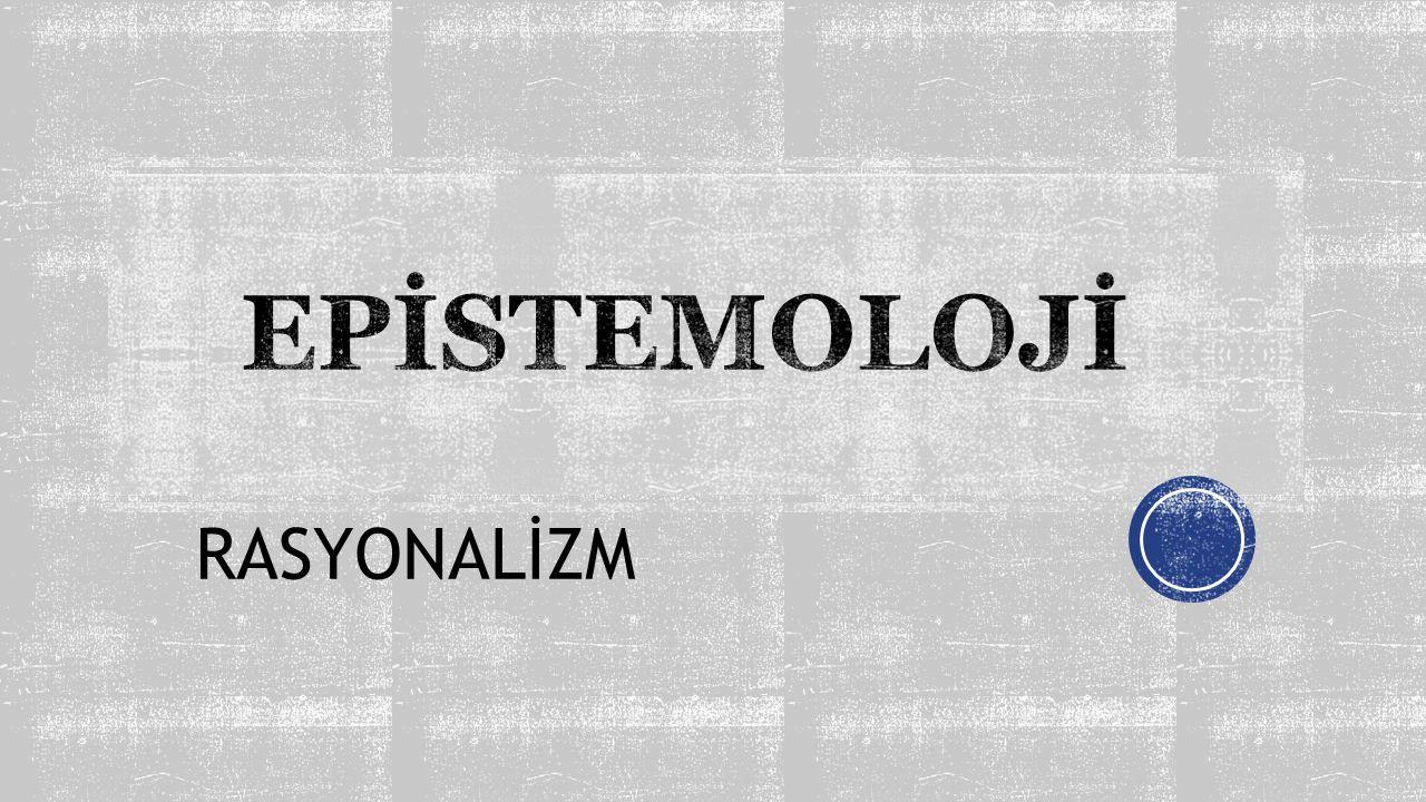 RASYONALİZM