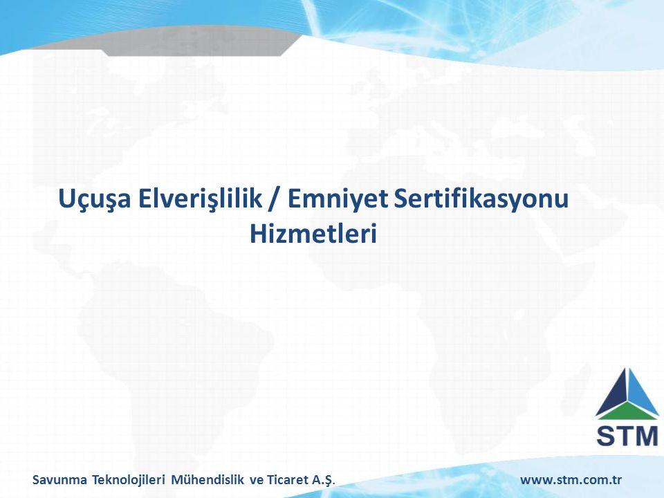 Savunma Teknolojileri Mühendislik ve Ticaret A.Ş.www.stm.com.tr Sorumluluk ve Düzenlemelerle İlgili Benzerlikler ULUSLARASI ORGANİZASYONLAR SORUMLULUKLAR DEVLET OTORİTE ULUSLARASI DÜZENLEMELER DÜZENLEMELER KANUNLAR, İKİLİ ANLAŞMALAR ULUSAL DÜZENLEMELER