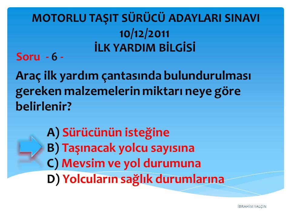 Otomobillerin trafiğe çıkarılabilmesi için aşağıdakilerden hangisinin yaptırılması zorunludur.