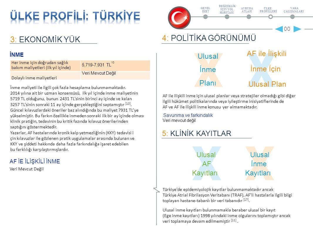 6: KLİNİK KAVUZLAR AF ile ilişkili inmeyle ilgili ulusal kılavuzlar ESC kılavuzları Türkçe'ye tercüme edilmiştir ve kardiyologlar ve birinci basamak hekimleri tarafından en yaygın şekilde takip edilen kılavuzlardır [6, 18].