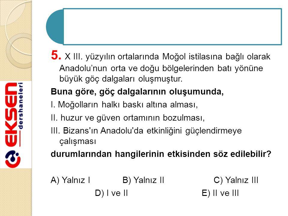 5. X III.