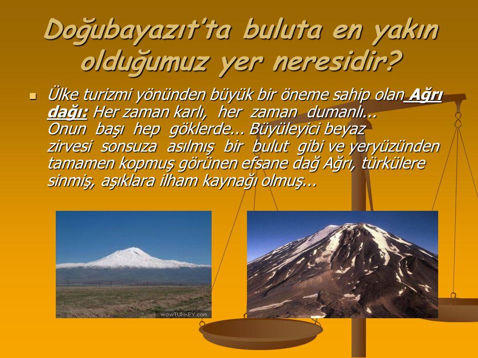 Küçük olmak karizmayı çizmez Küçük olmak karizmayı çizmez Ağrı Dağının volkanik kütlesi temelde birdir, sonradan iki büyük koniye ayrılır.