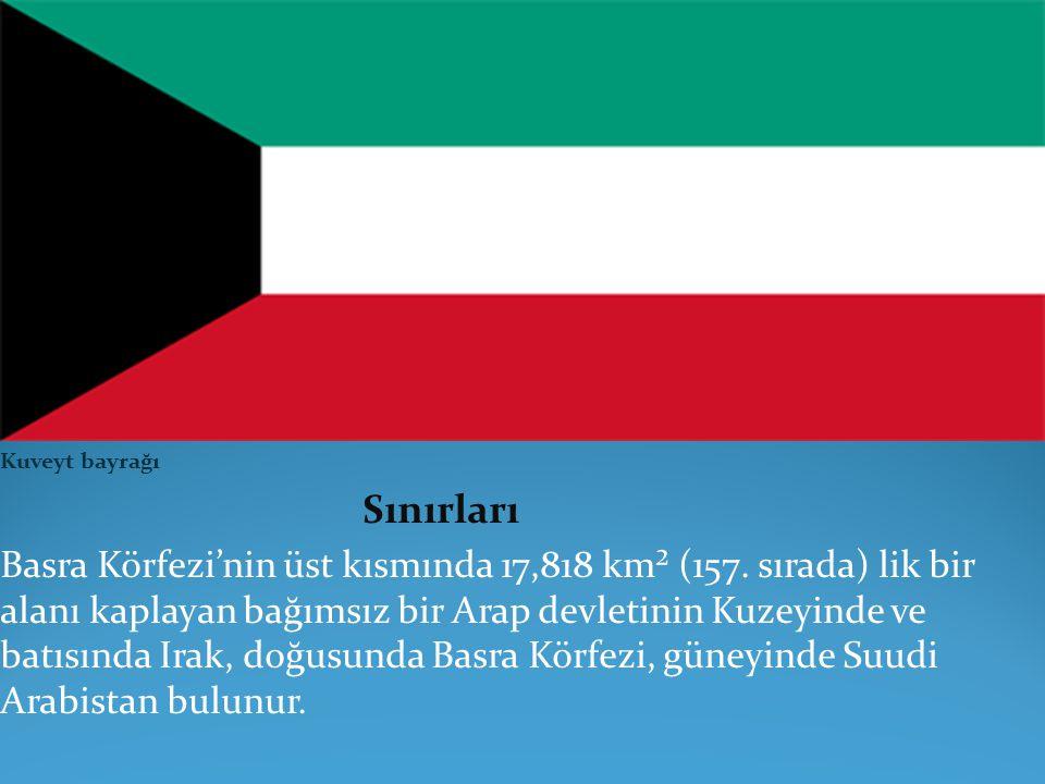 TARİHİ On sekizinci yüzyıl başlarında, Arabistan Yarımadasının iç bölgelerindeki Anizah kabilesinden birçok ailenin göçebelikten vazgeçip, Basra Körfezi kıyılarına yerleşmesi Kuveyt şehrinin, buna bağlı olarak da devletin temelini teşkil etmiştir.