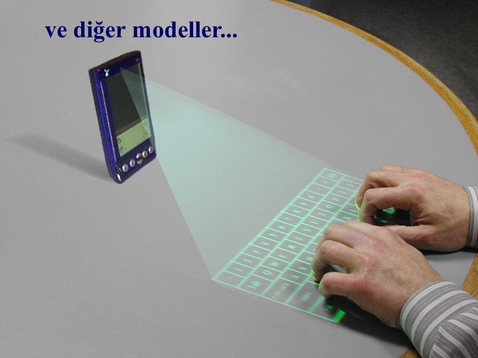 Çok kolay... sadece parmaklarınızı klavyenin üstünde gezdirin