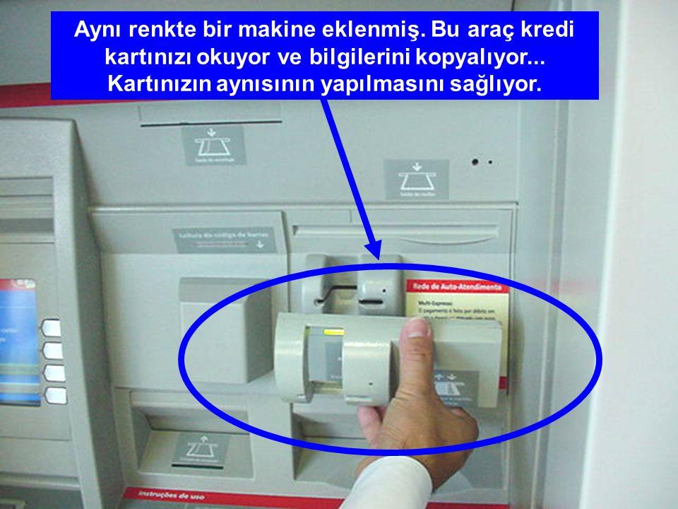 Sizce bu ATM makinası normal mi ?