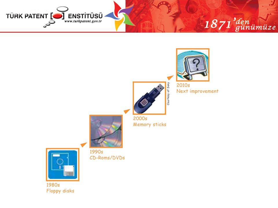 Patent Başvurusu ve Ekleri (KHK Madde 42) (Yönetmelik Madde 5) Başvuruda verilmesi gereken unsurlar –Başvuru dilekçesi (TPE-P-101) * –Başvuru ücreti dekontu (25 YTL) –Tarifname * –İstemler * –Özet –Resimler (zorunlu değil) * * Patent başvuru tarihi bu unsurların Enstitü ye verildiği tarih, saat ve dakika itibariyle kesinleşir.