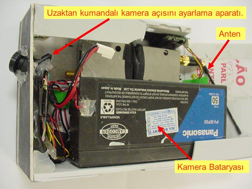 Mikro kamera klavyeyi görebilecek konumda ve ayrıca monitörden hesap bakiyenize kadar tüm bilgiler görünebiliyor.