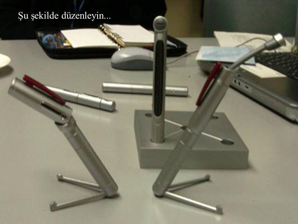Kalemler mi? Bunlar bir bilgisayarın parçaları !!!