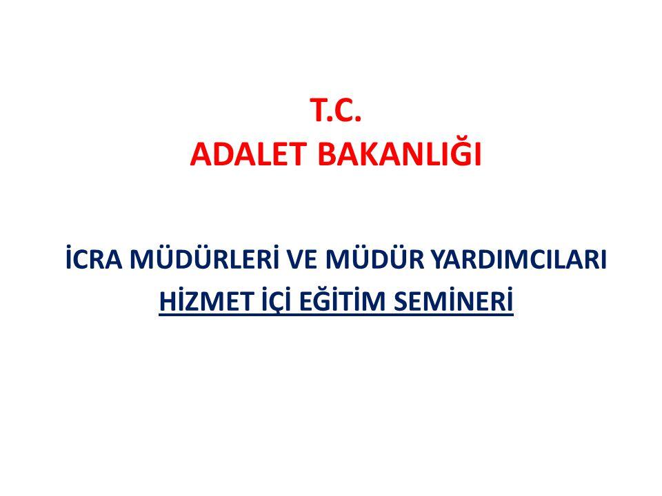 SIRA CETVELİ Osman DEĞERMENCİ Ankara 26.İcra Müdürü Tevfik KOLÇAK Ankara 2.