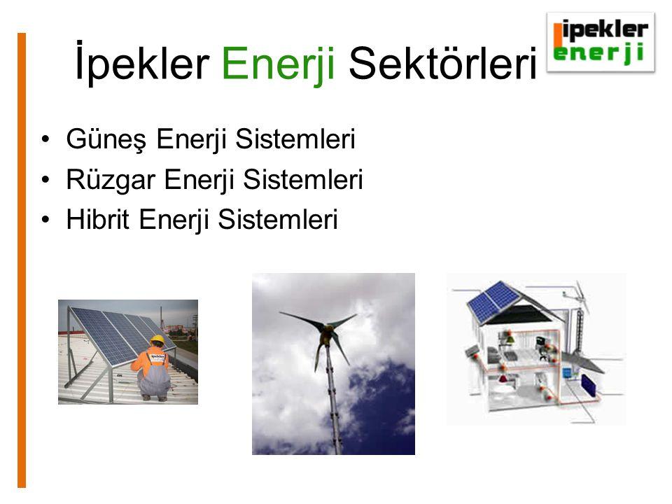 İpekler Enerji Sektörleri Güneş Enerji Sistemleri Rüzgar Enerji Sistemleri Hibrit Enerji Sistemleri