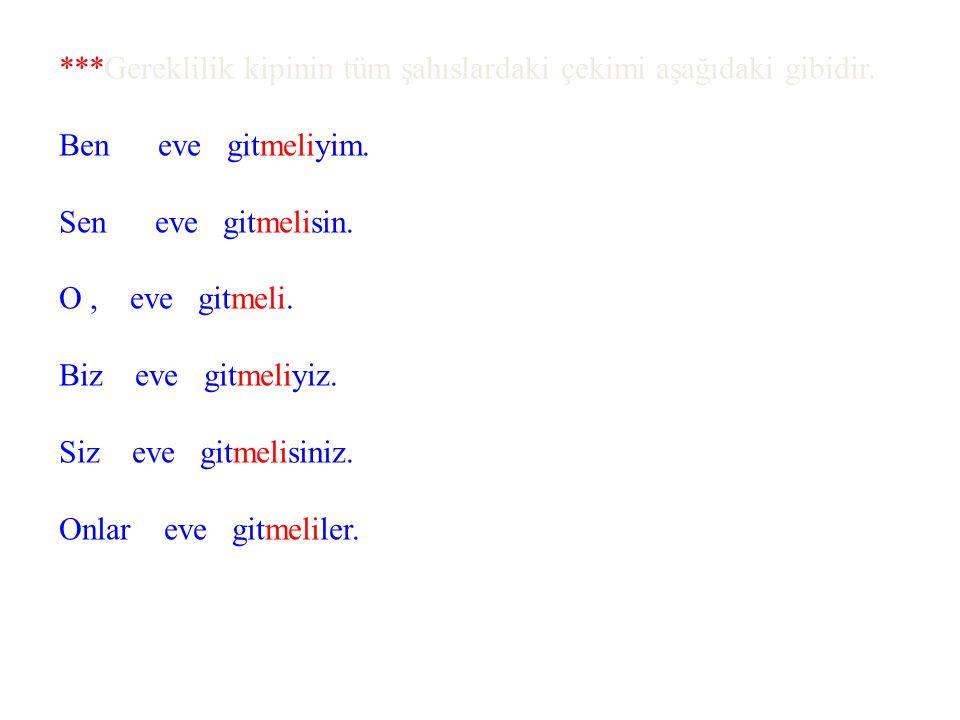 ÖRNEK: *Niyazi'nin Türkçe dersi zayıf.Niyazi ne yapmalı?Niyazi çok ders çalışmalı.