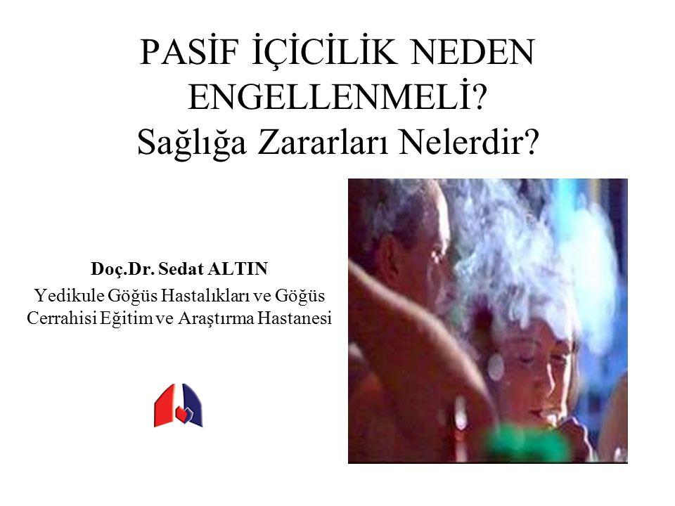 Barlarda Sigara Yasağı Uygulaması, Norveç Journal of Environmental Monitoring, 2006, 8: 362 – 368