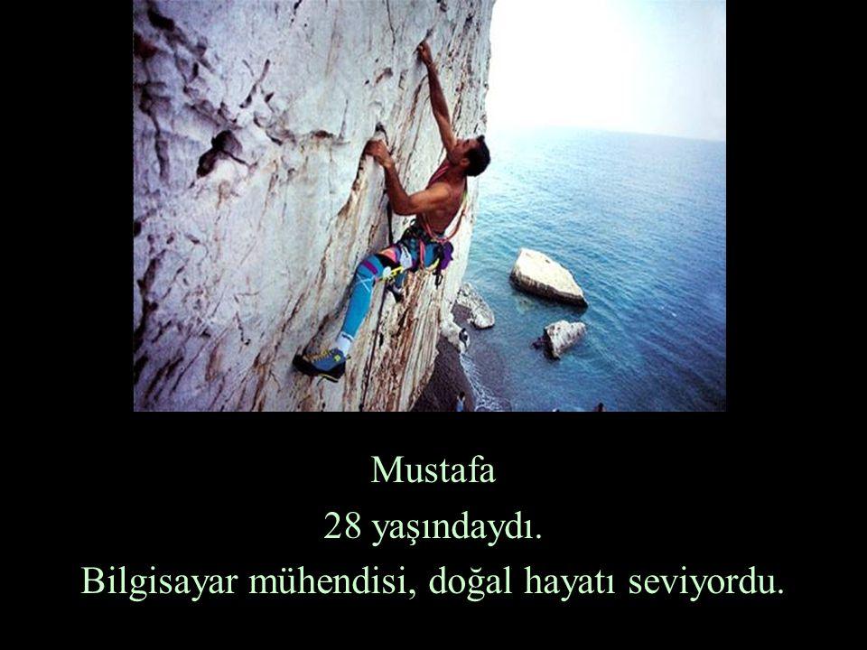 Mustafa 28 yaşındaydı. Bilgisayar mühendisi, doğal hayatı seviyordu.
