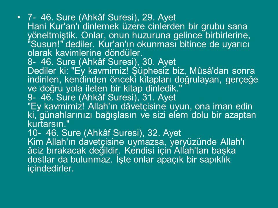 Ayetlerdeki Bakış Açısını Bulma 6.Kazanım Şeytanın kötülüğünden korunma hususunda Kur'an'ın öğütlerinden örnekler verir.