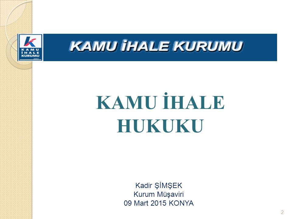 İhale Komisyonu Yapım 20.md; Hizmet 19.md; Mal 17.md İ hale yetkilisi ihale ilanı veya ön yeterlik ilanı ya da davet tarihini izleyen en geç üç gün içinde ihale komisyonunu oluşturur.