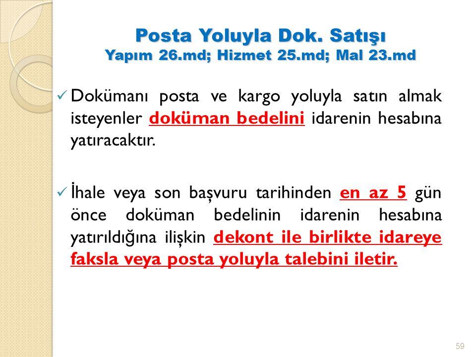 Posta Yoluyla Dok.